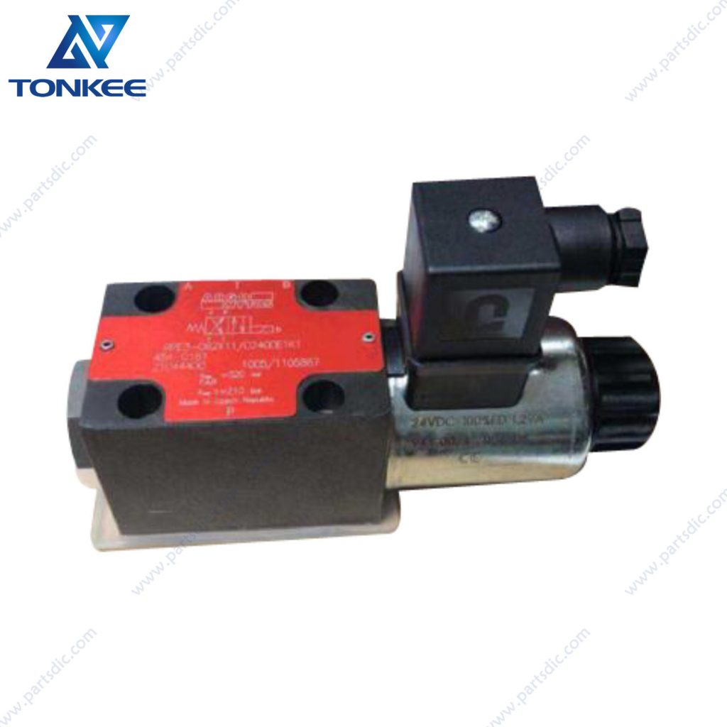 ARGO HYTOS RPE3-062X11 484-0161 21044400 quick hitch solenoid ZX130 CX130 JS130 quick hitch solenoid