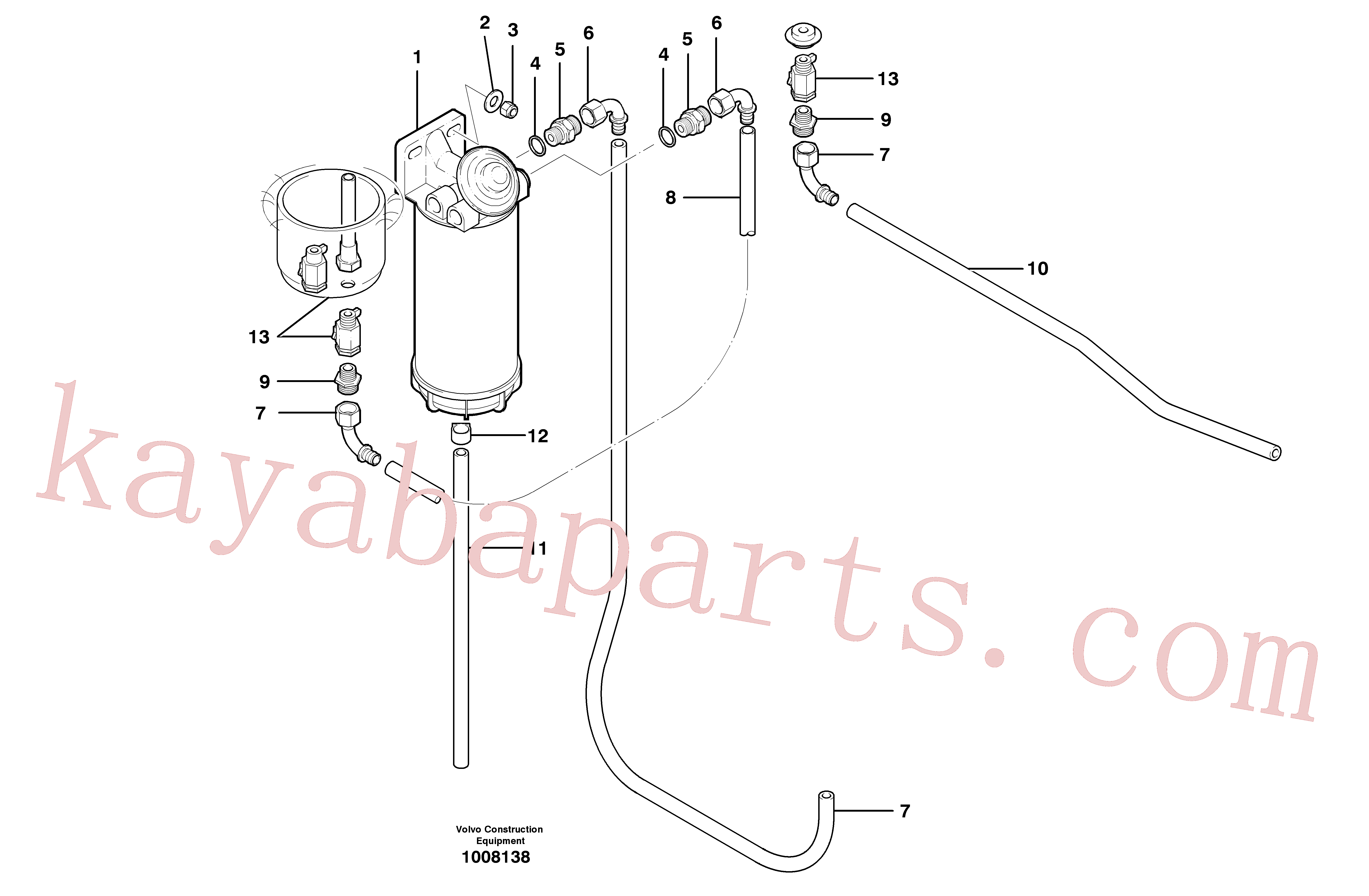 ZM7099500 for Volvo Fuel circuit(1008138 assembly)