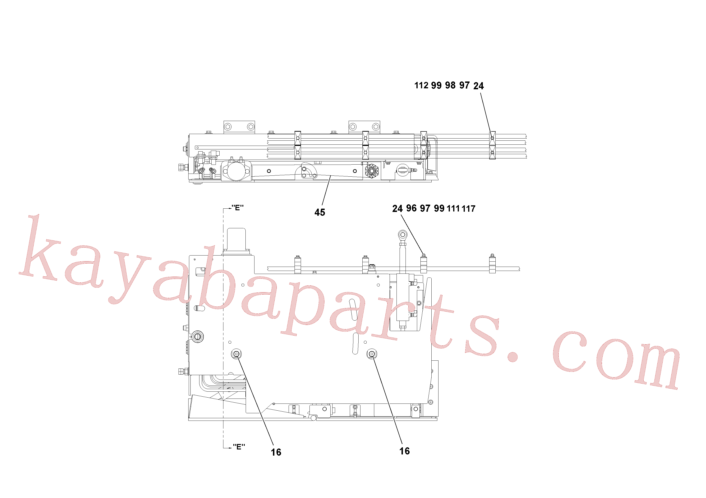 RM20342085 for Volvo 4' Extension Assembly(1036868 assembly)