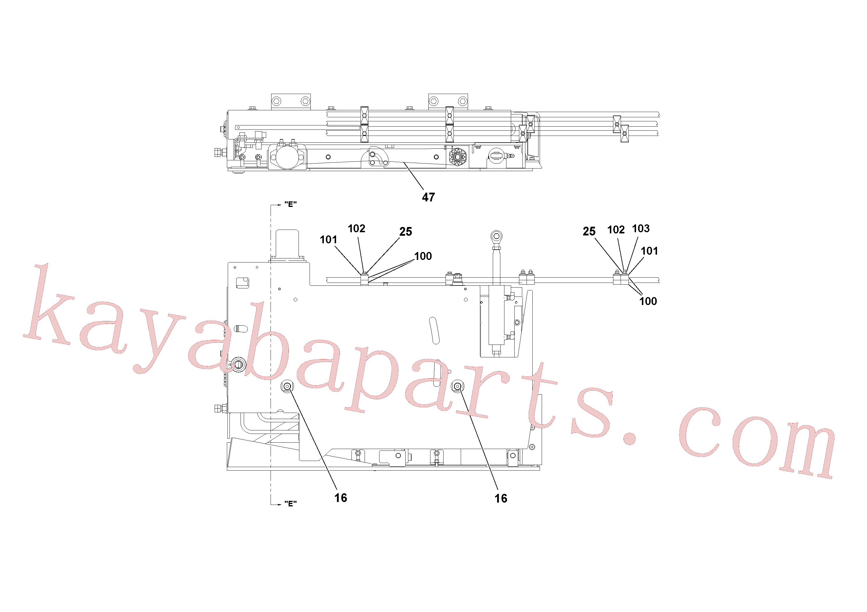 RM20342085 for Volvo 4' Extension Assembly(1036907 assembly)