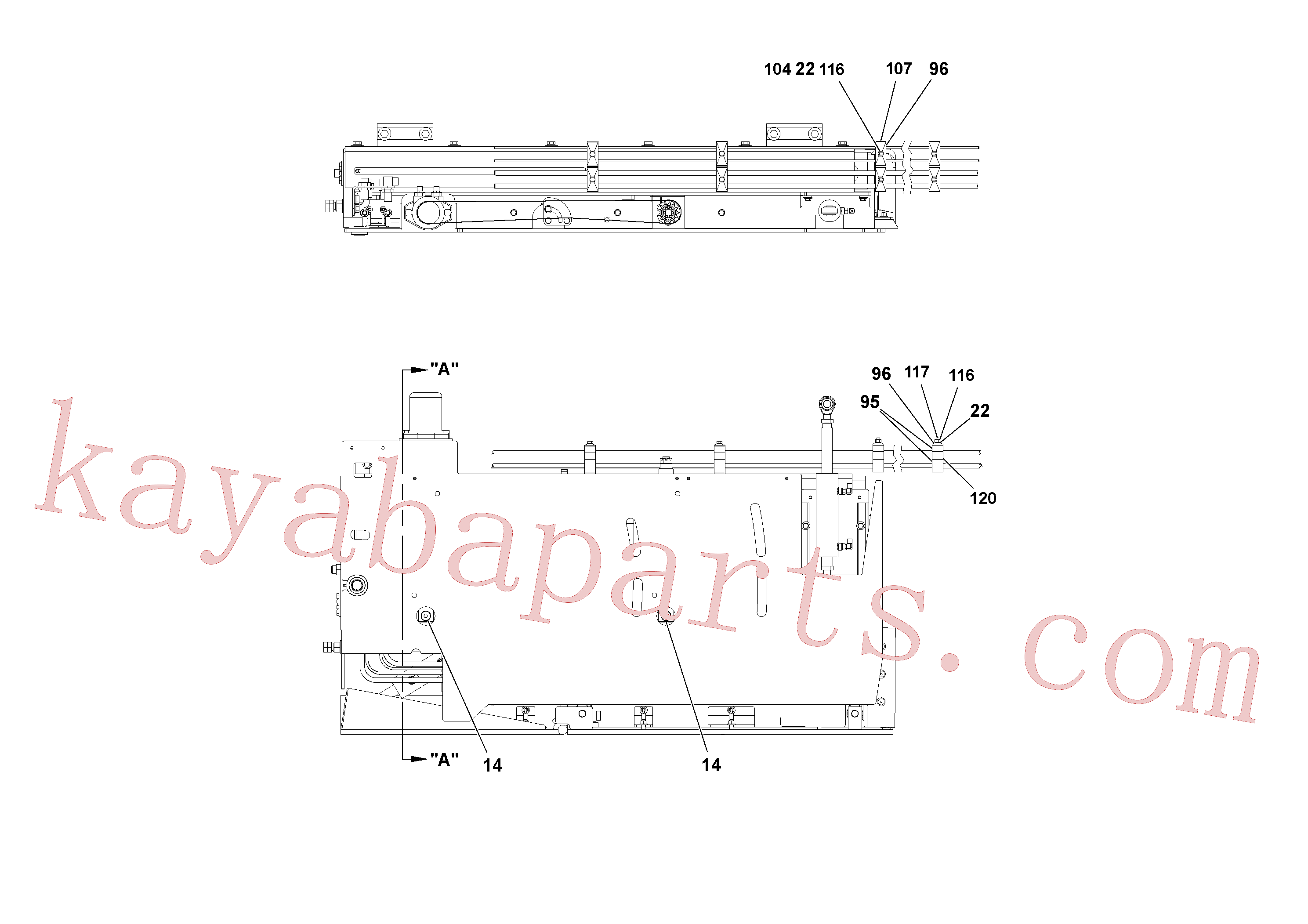 RM20342085 for Volvo 5' Extension Assembly(1036962 assembly)