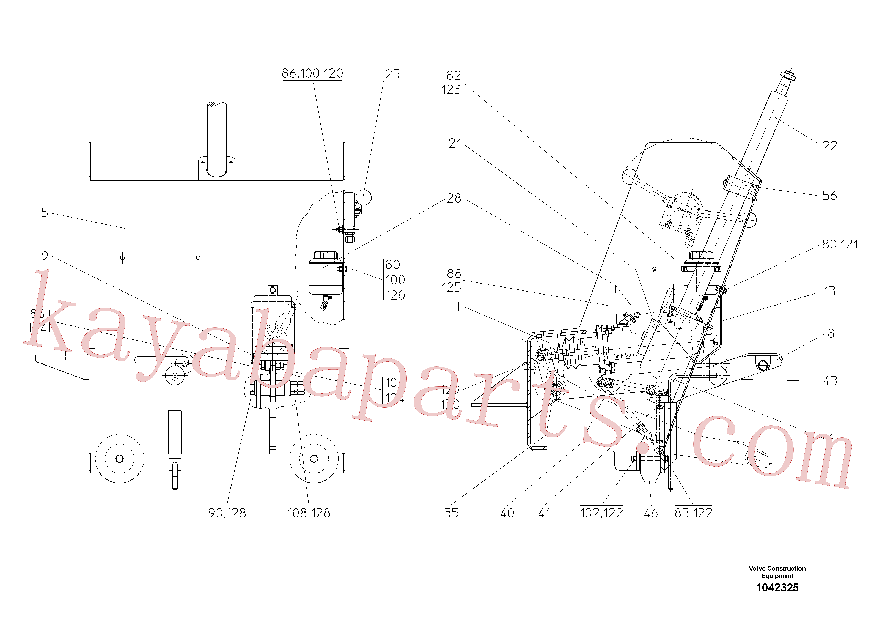 RM14104053 for Volvo Control Station(1042325 assembly)