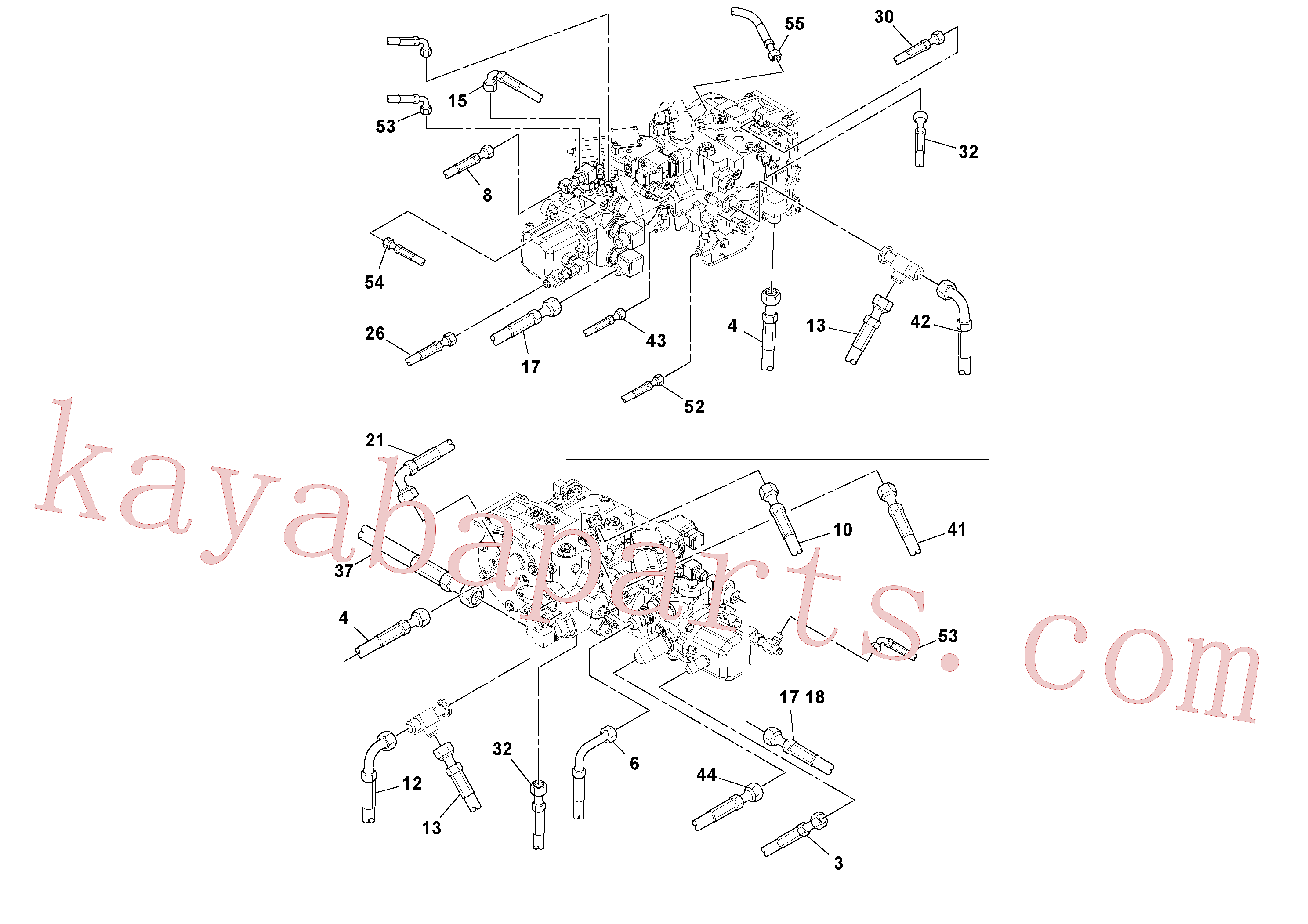 RM13106497 for Volvo Hoses Installation(1045243 assembly)