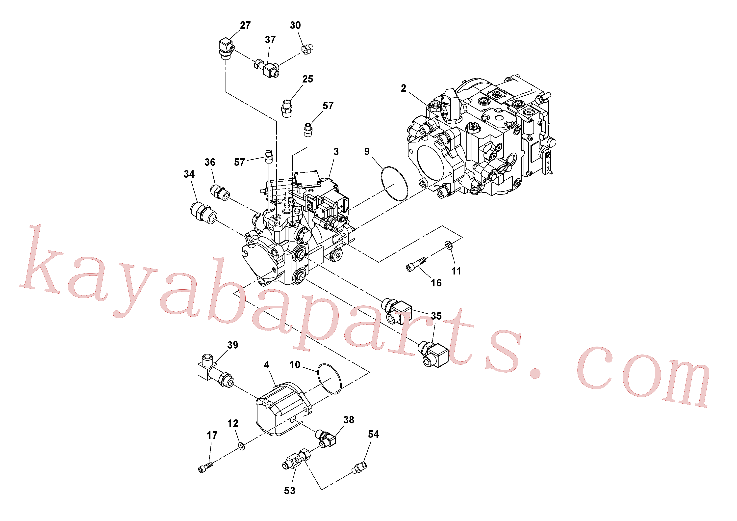 RM96725023 for Volvo Pump Stack Assembly(1045249 assembly)