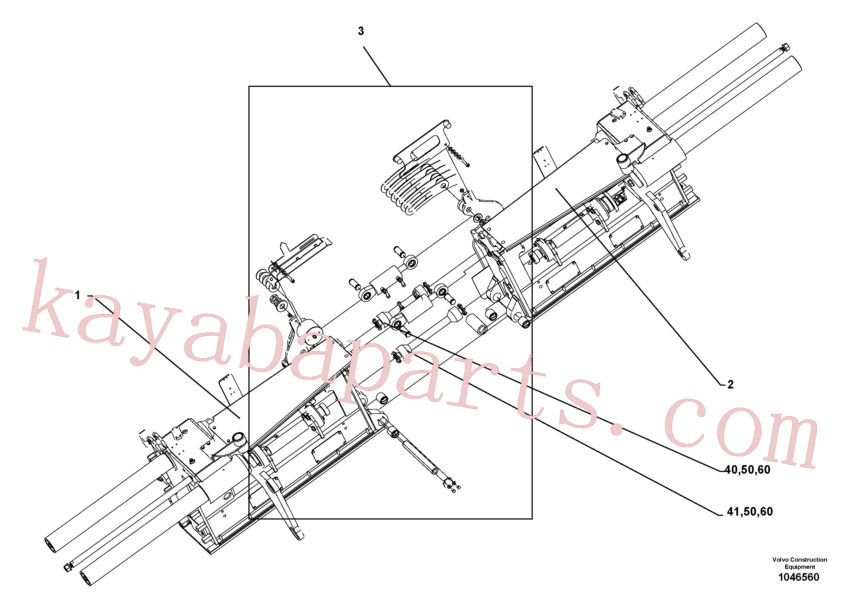 RM56293277 for Volvo Basic screed and crown control(1046560 assembly)