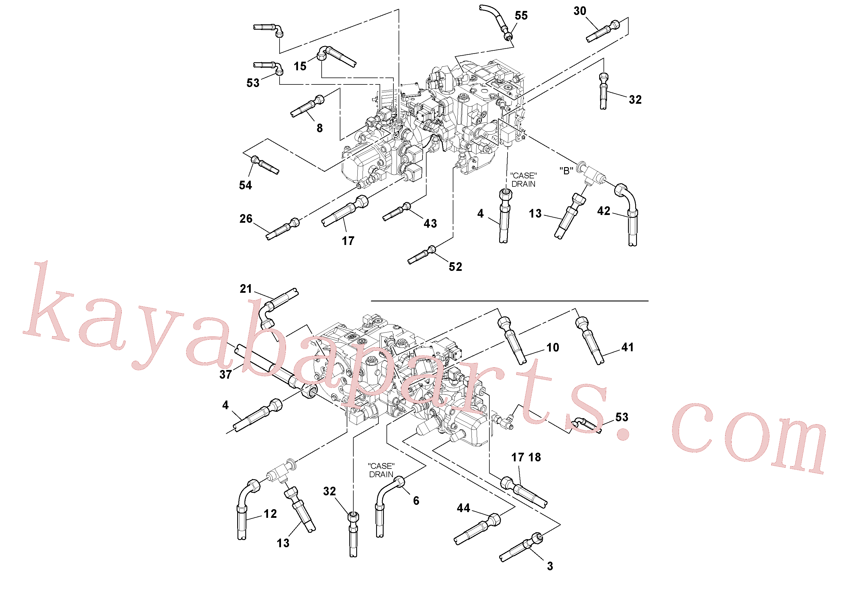 RM13106497 for Volvo Hoses Installation(1048984 assembly)