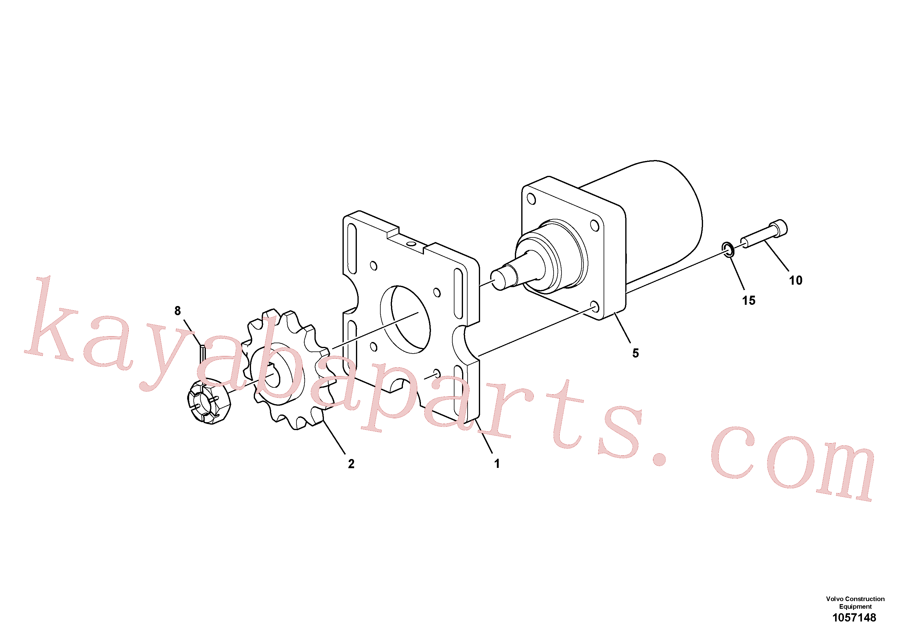 RM14848030 for Volvo Drive Assembly(1057148 assembly)