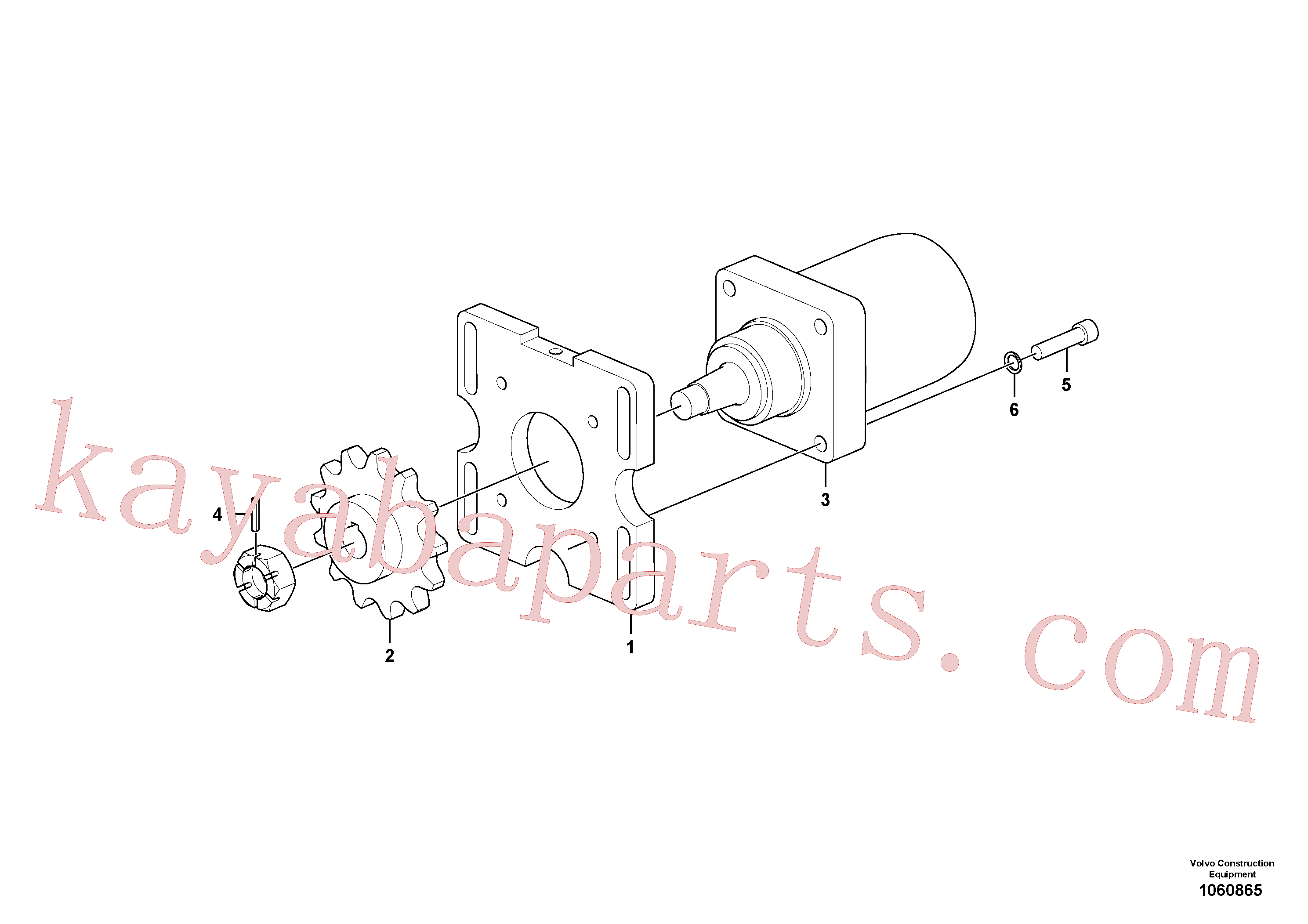 RM14848030 for Volvo Drive Assembly(1060865 assembly)