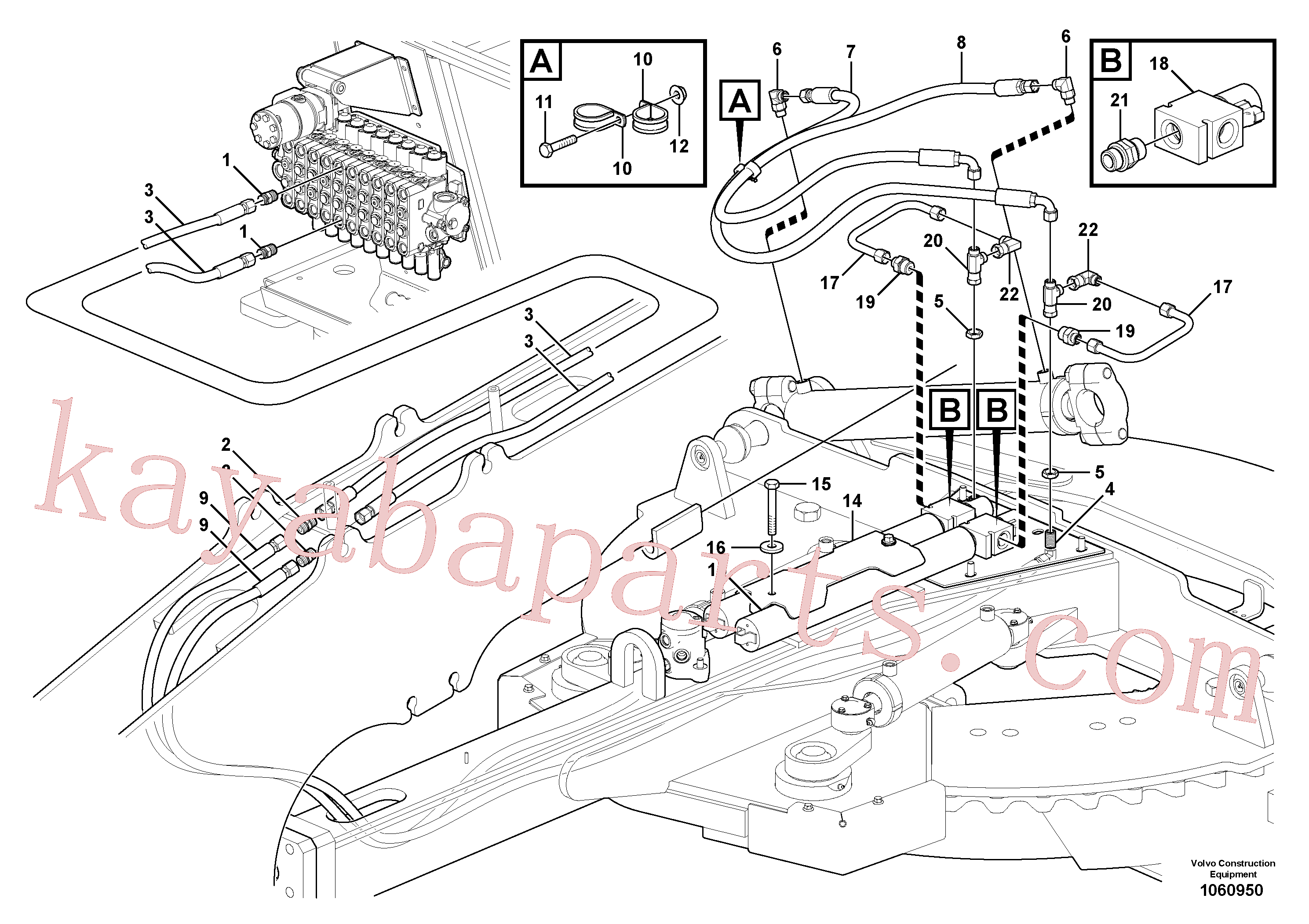 VOE13933868 for Volvo Circle shift circuit(1060950 assembly)