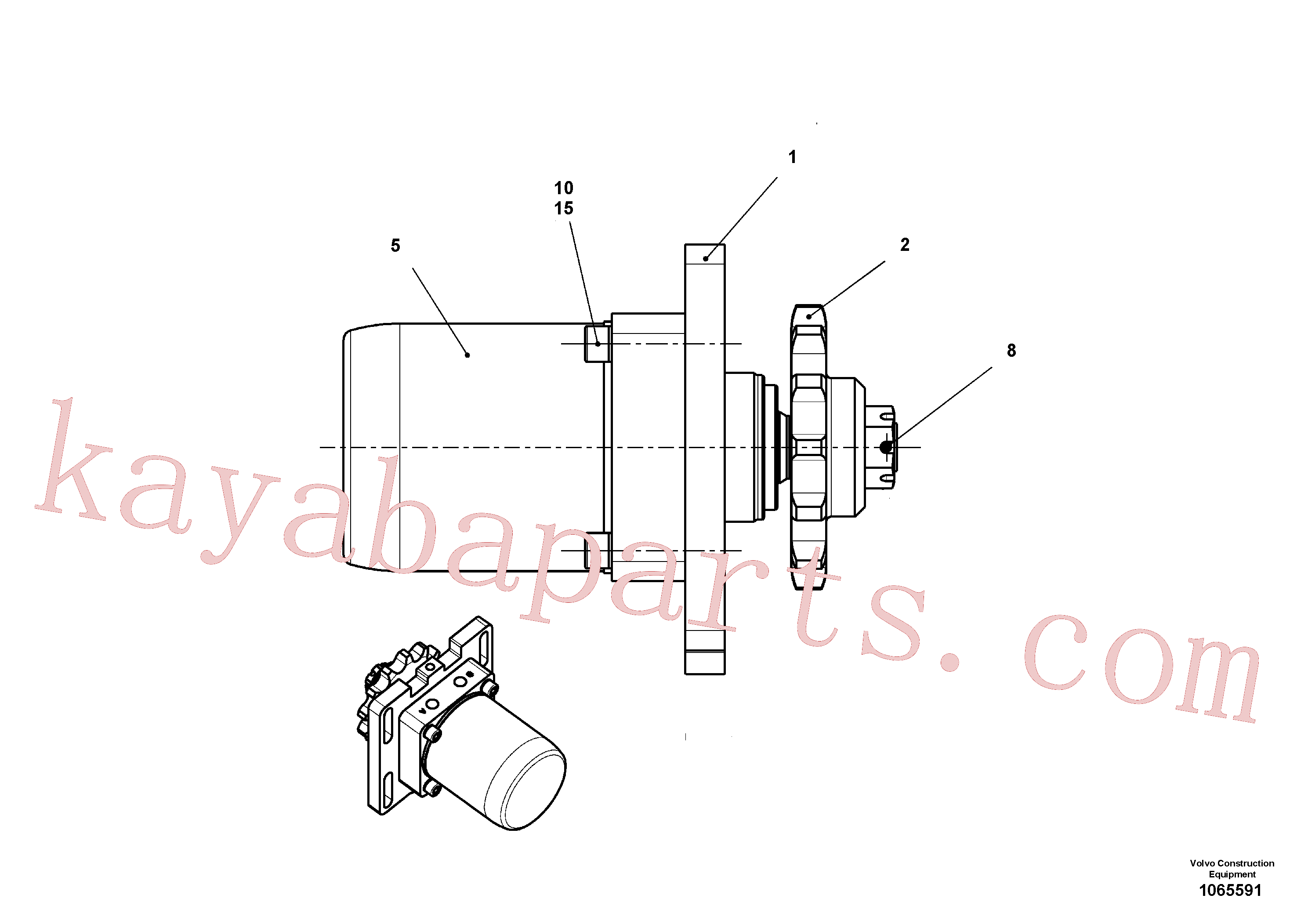 RM14848030 for Volvo Drive(1065591 assembly)
