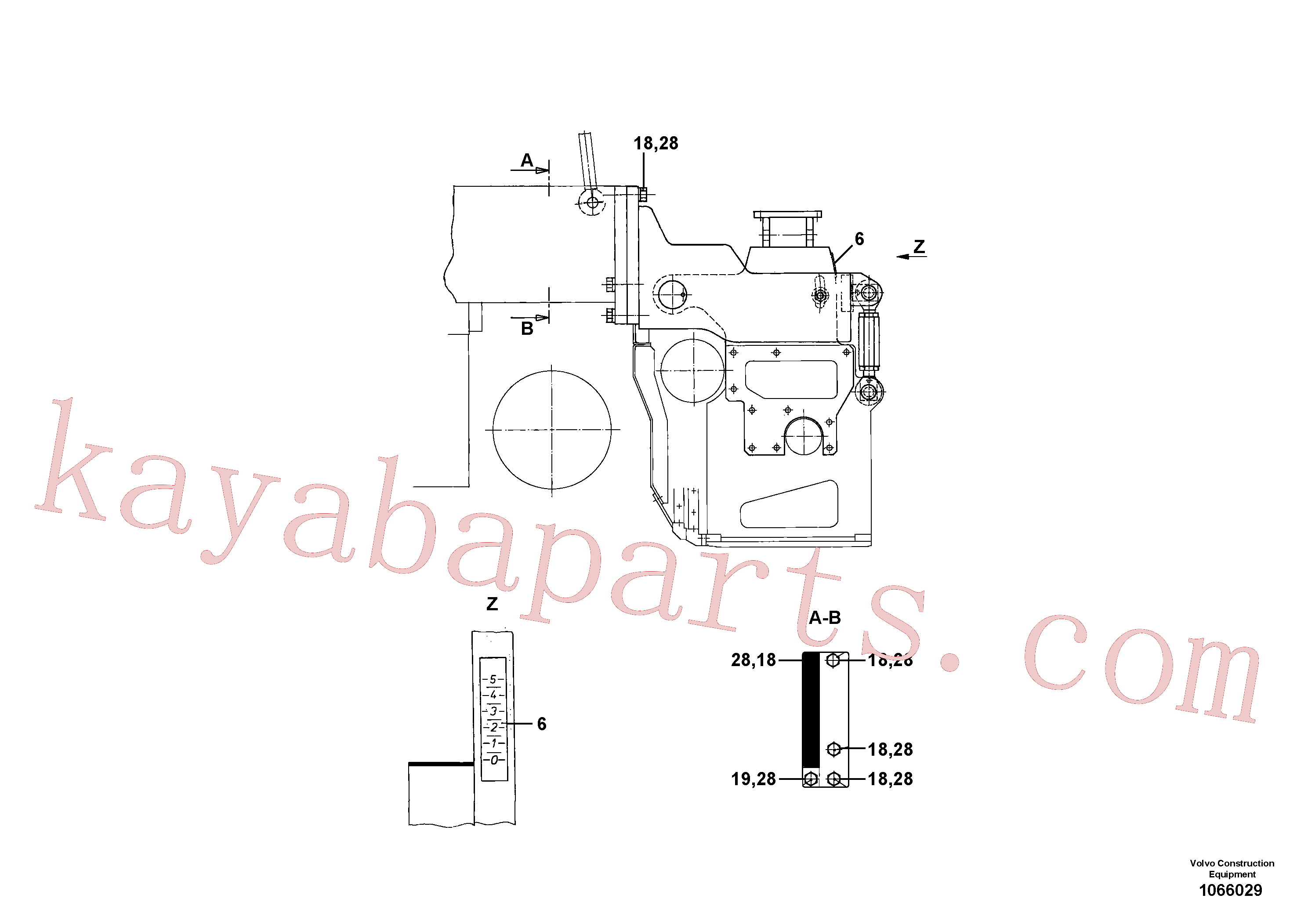 RM96726906 for Volvo Mounting parts for towing arms(1066033 assembly)