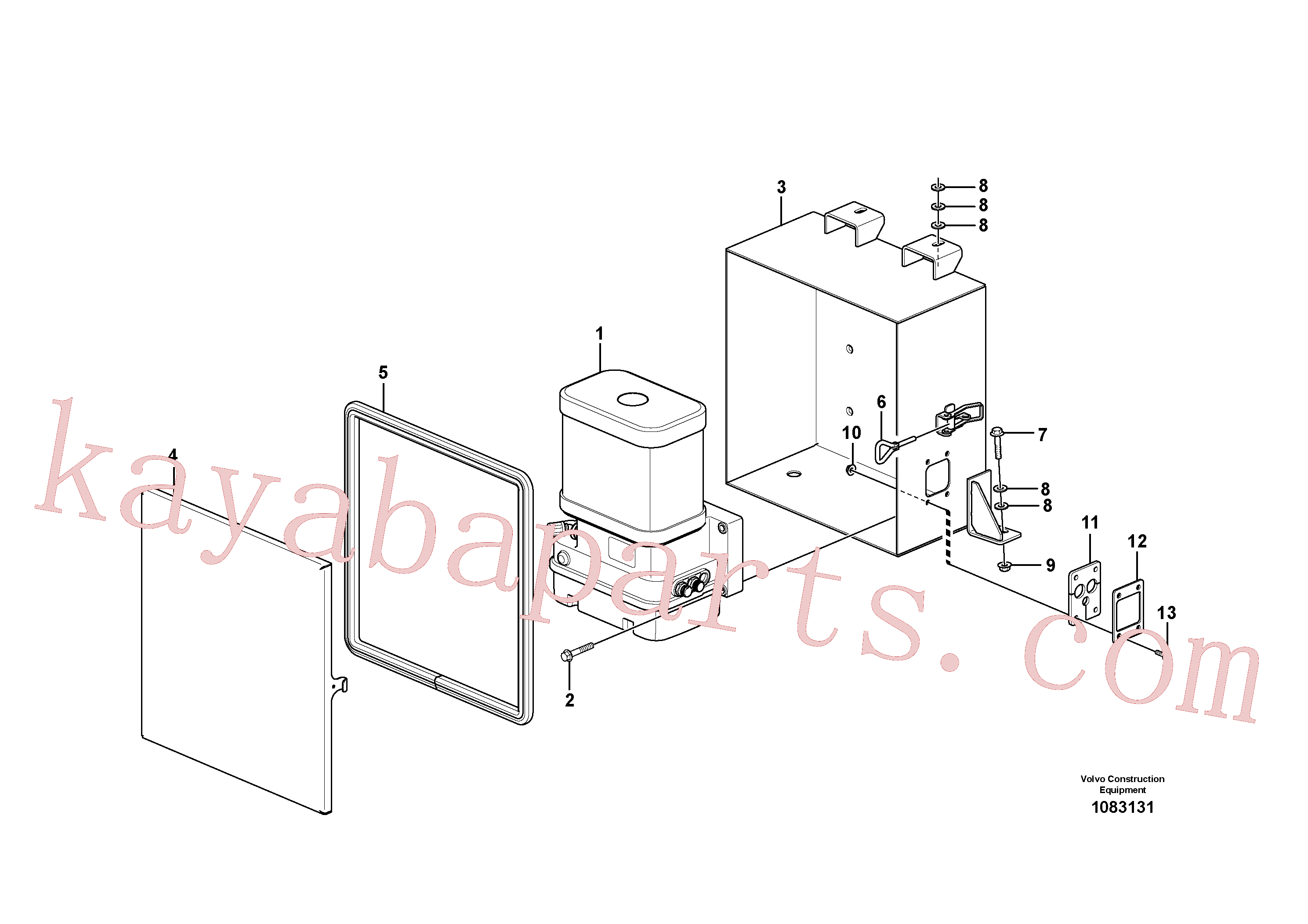 VOE15097283 for Volvo Pump with fitting parts(1083131 assembly)