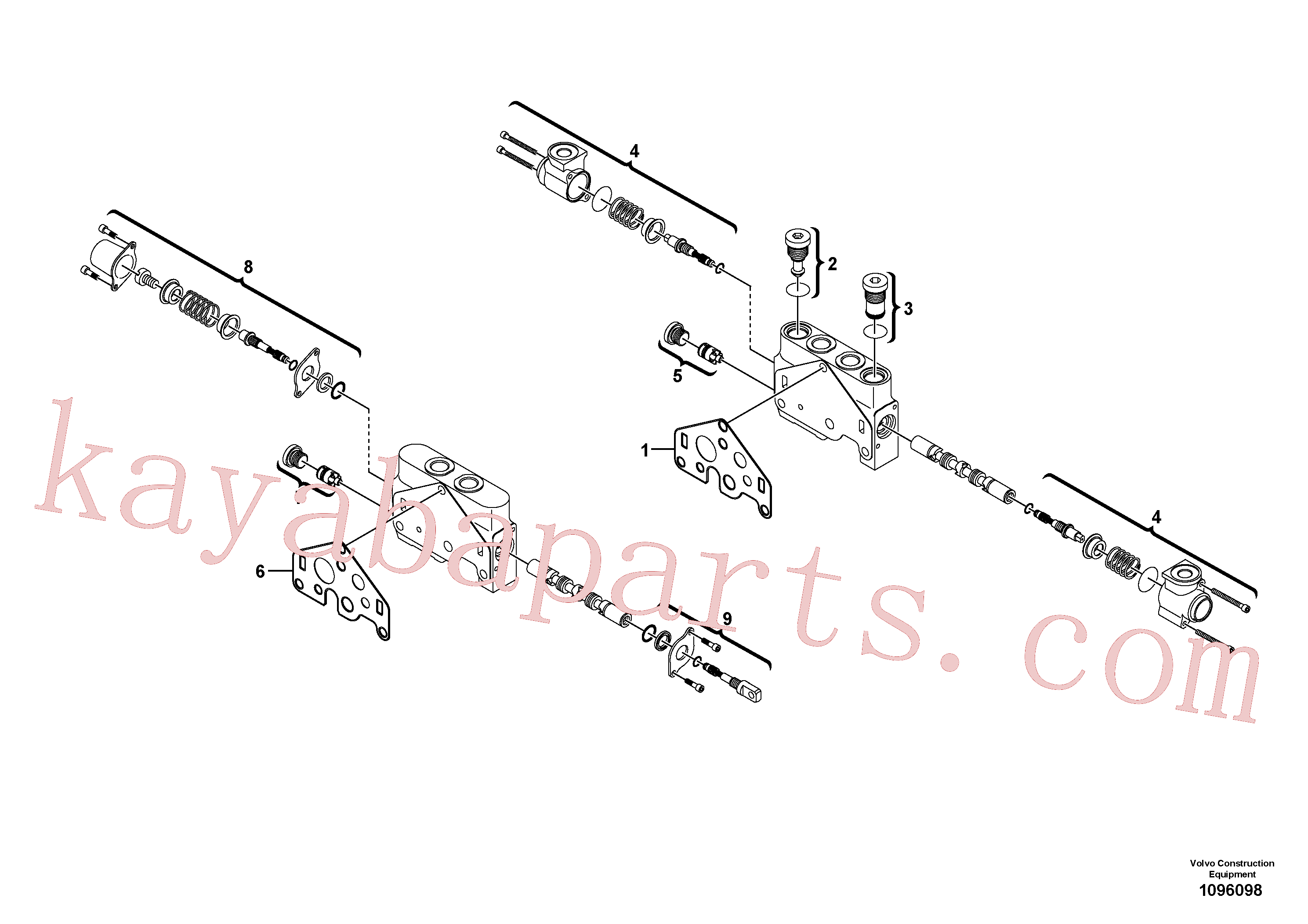 VOE17491806 for Volvo(1096098 assembly)