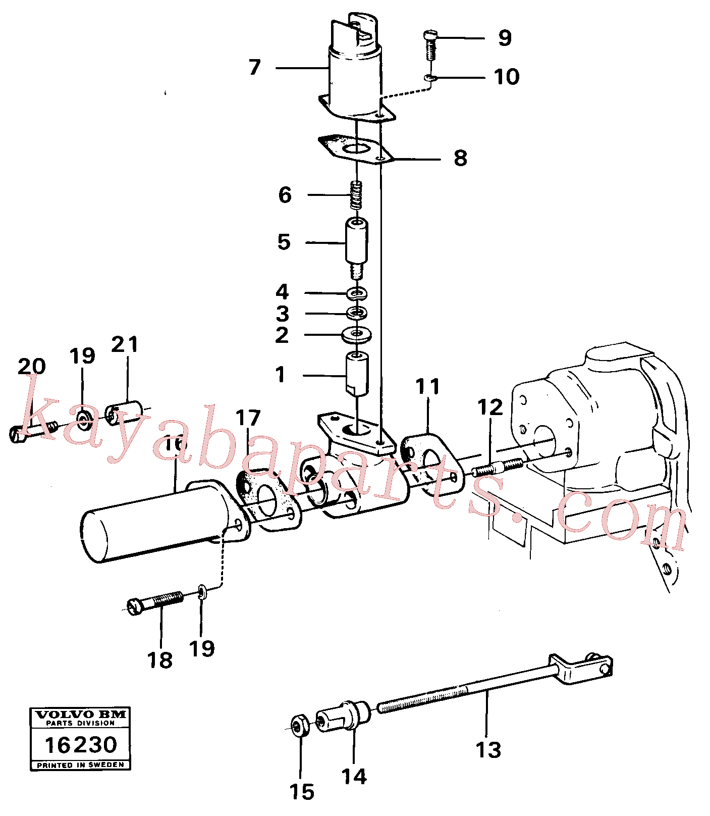 EH6235792 for Volvo Cold-starting device(16230 assembly)